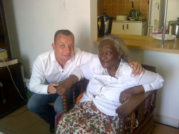 Bbw Oma zwischen verschiedenen Rassen