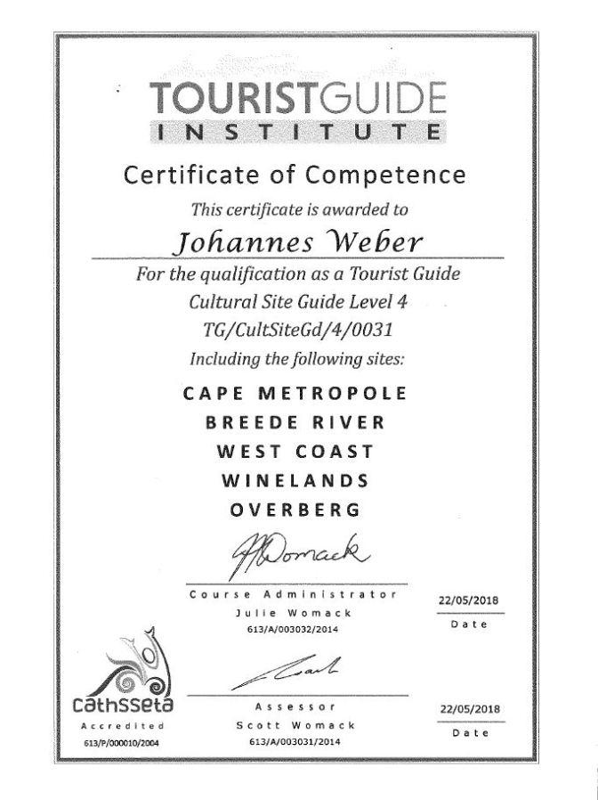 TGI_Certificate_Cape_Metropole